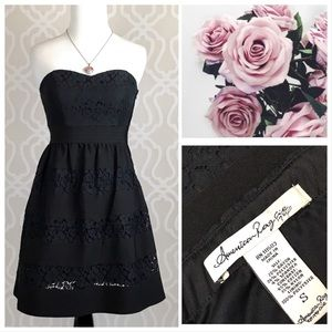 American Rag Black Lace Party Dress